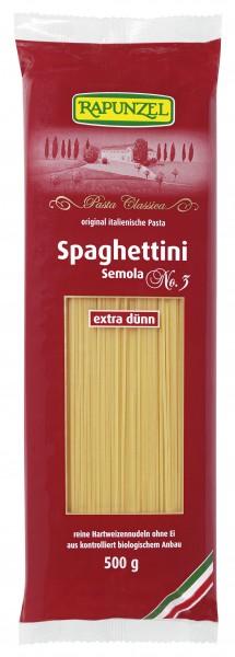 Spaghettini Semola, no.3