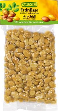 geröstete Erdnüsse, gesalzen