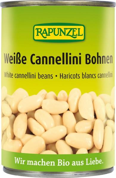 Weiße Cannellini Bohnen in der Dose