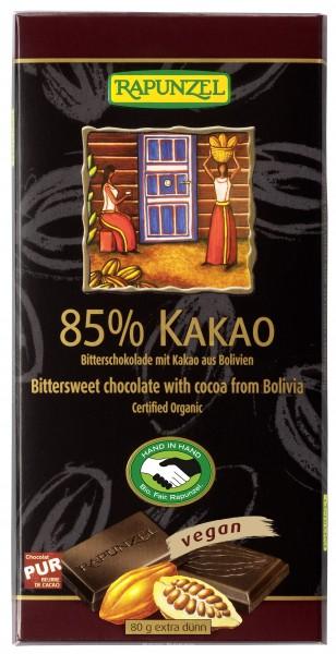 Bitterschokolade 85% Kakao