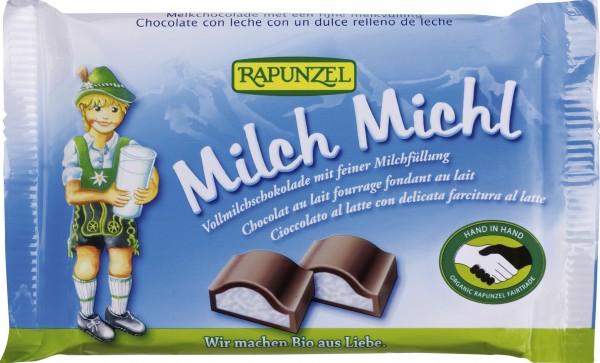 Milch Michl Schokolade mit Milchfüllung